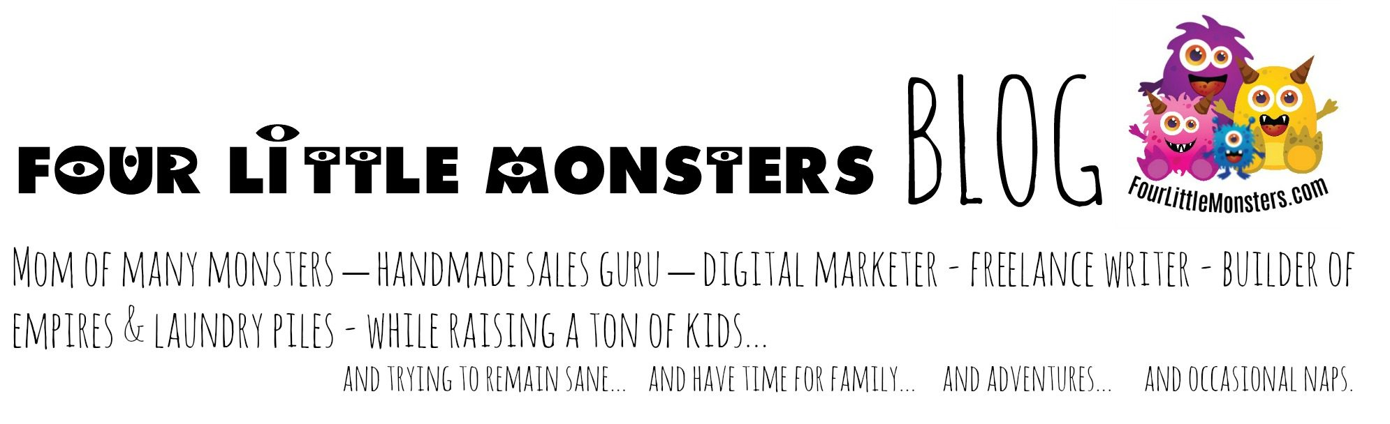 Four Little Monsters Blog: